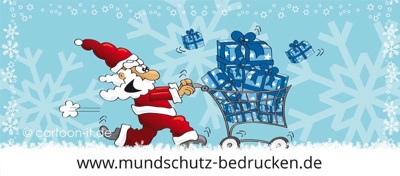 Mundschutz Weihnachten kaufen